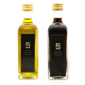 トリュフ醤油とトリュフオイル